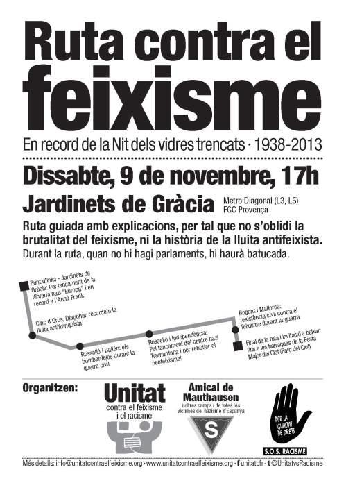 Ruta contra el feixisme 9N